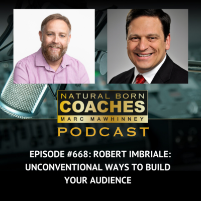 Episode #668: Robert Imbriale: Unconventional Ways to Build Your Audience
