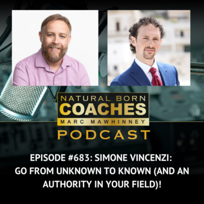 Episode #683: Simone Vincenzi: Go From Unknown to Known (and an Authority in Your Field)!