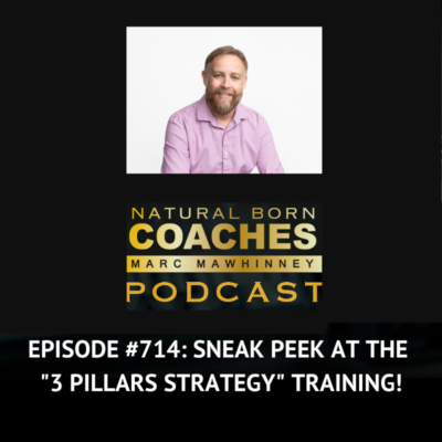 """Episode #714: Sneak Peek at the """"3 Pillars Strategy"""" Training!"""